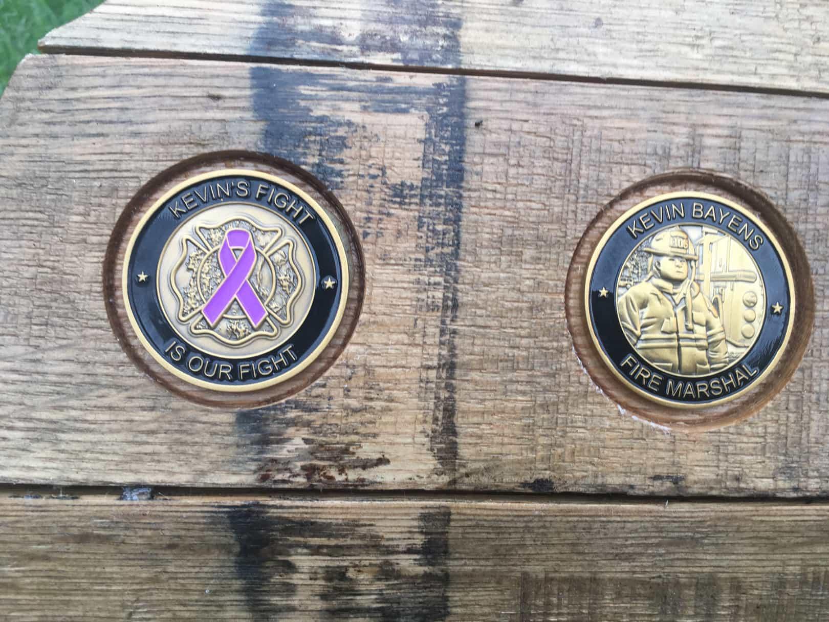 Challenge Coin Holder KY | ALL3N LLC | Bourbon Barrel Crafts