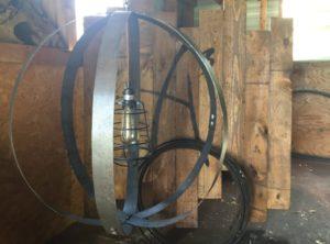 Bourbon Barrel Ring Chandelier