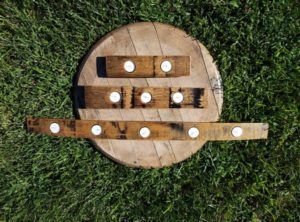 Tealight Stave Candle Holders