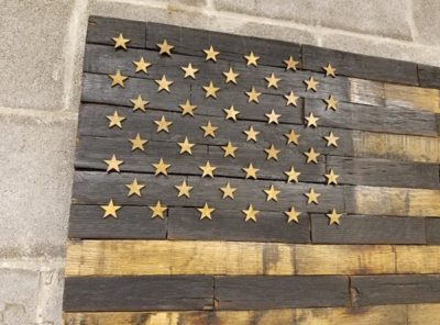 50 Star Bourbon Barrel American Flag