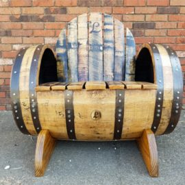 Bourbon Barrel Chair