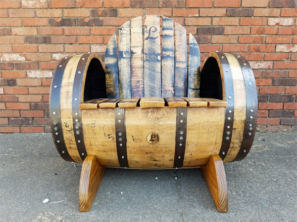 Superieur Bourbon Barrel Chair