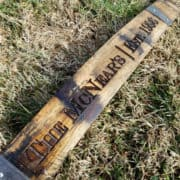 Personalized Bourbon Barrel Stave