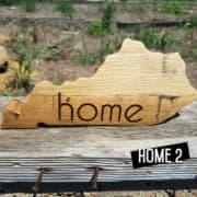 "Personalized Mini State ""Home2"""